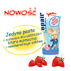 Pasta do zębów biorepair junior
