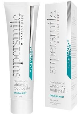 Pasta do zębów Supersmile bez fluoru