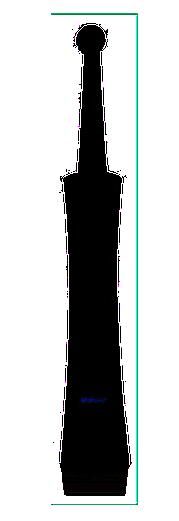WhiteWash BLACK Rotating Power PRT1000-B - obrotowa szczoteczka elektryczna